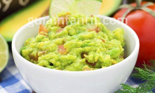 Receta de guacamole casero. Receta de México 3