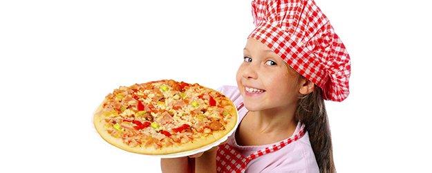 6 recetas de pizza para niños.