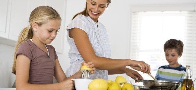 Recetas de postres con limón para niños