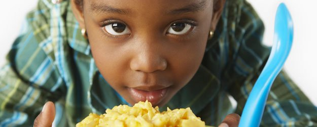 Recetas de macarrones para niños.