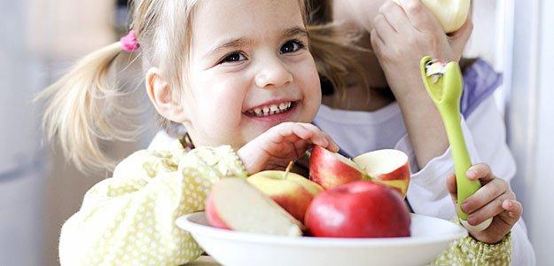 Recetas de manzanas para niños
