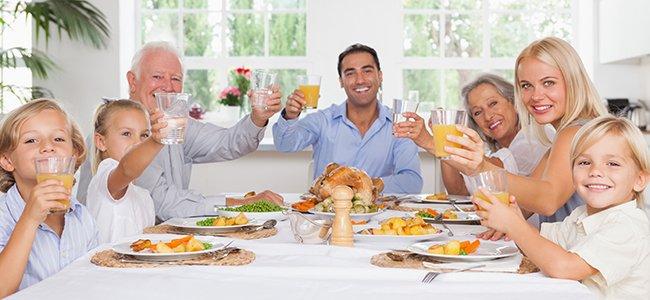 Menú de Thanksgiving Day para niños