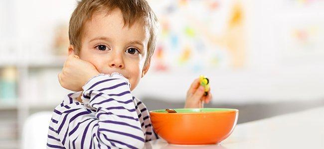 menú de recetas light para niños