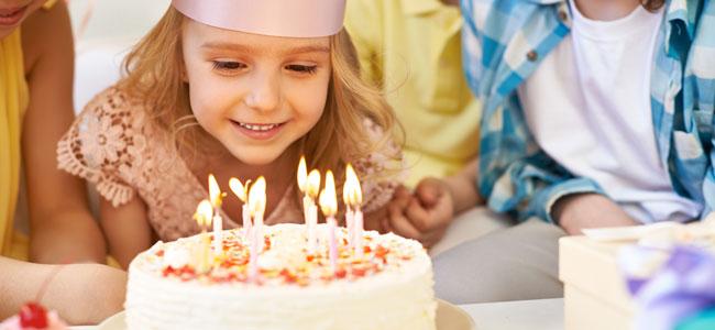 Recetas para cumpleaños infantiles