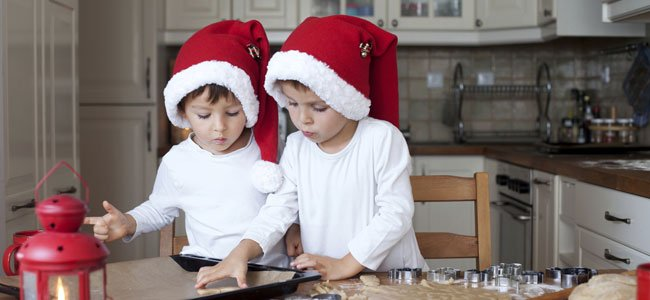 Cómo hacer polvorones de Navidad