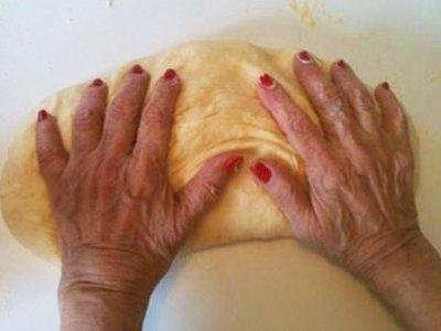 Receta de pan de cebolla. Paso 3