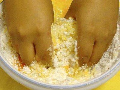 Receta de pan de queso. Preparación4