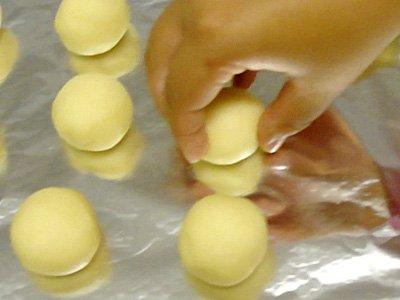 Receta de pan de queso. Preparación 5
