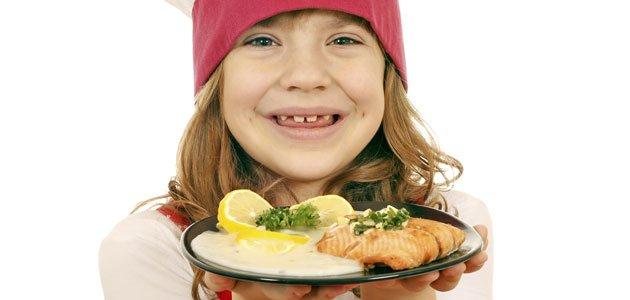 Recetas de pescado azul para niños