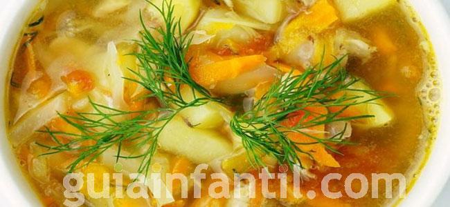 Guiso de pollo con verduras y quinoa. Paso 5