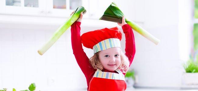 Recetas con puerros muy saludables para los niños