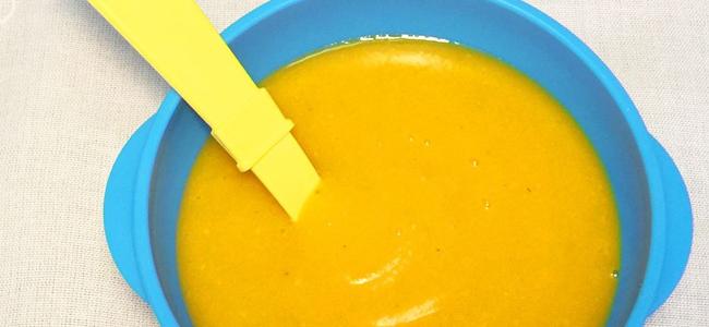pure de calabaza zanahoria