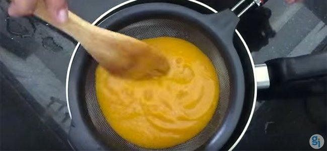 Puré de batata. Paso 3
