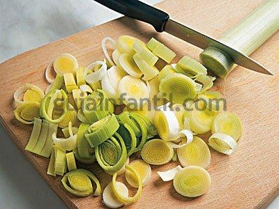 Receta de quiche de queso y puerros 1