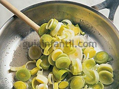 Receta de quiche de queso y puerros 2