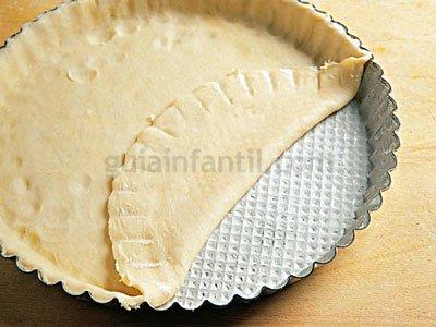 Receta de quiche de queso y puerros 3