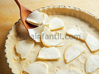 Receta de quiche de queso y puerros 4