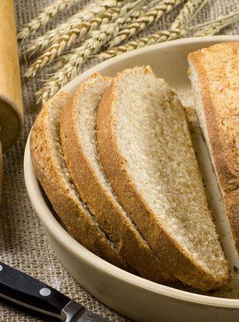 Receta de pan casero para los niños