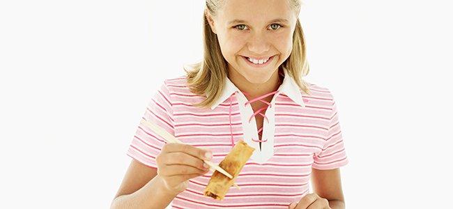 Recetas de platos chinos para niños