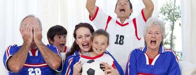 Recetas para ver el fútbol en familia