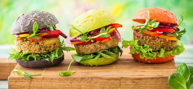 ideas de recetas de hamburguesas para niños