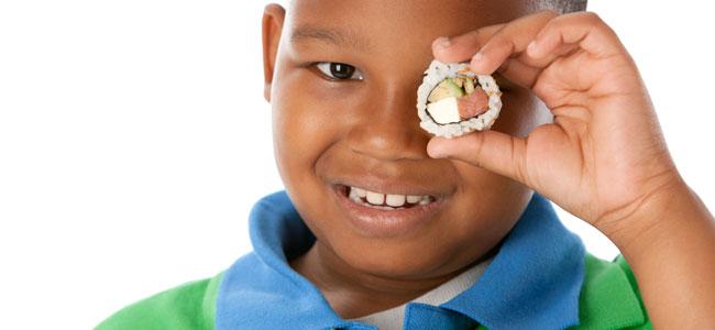 Recetas japonesas para niños