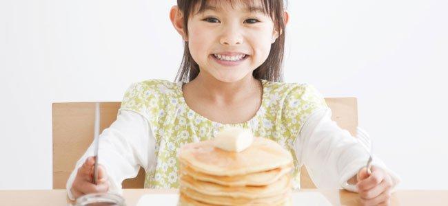 Recetas de tortitas caseras para niños