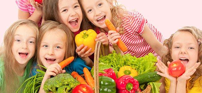 Recetas de verduras ricas para niños