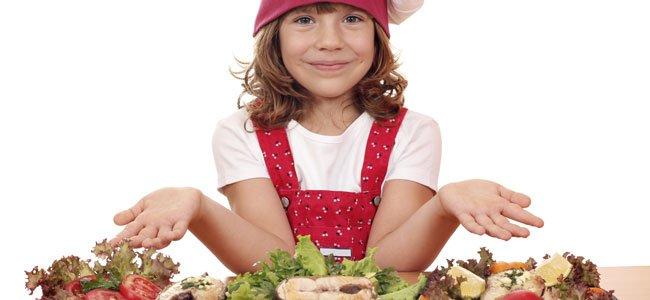 Segundos platos sanos para niños