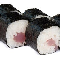 Receta de sushi de atún sin gluten