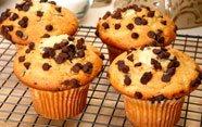 Muffins caseras con margarina