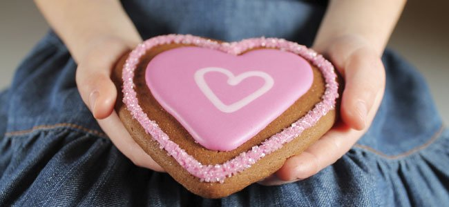 tarta de corazón