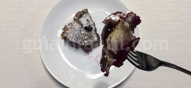 Clafoutis o tarta de cerezas sin horno