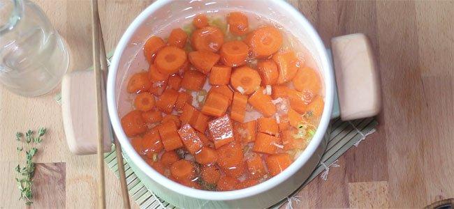 Zanahoria cuece