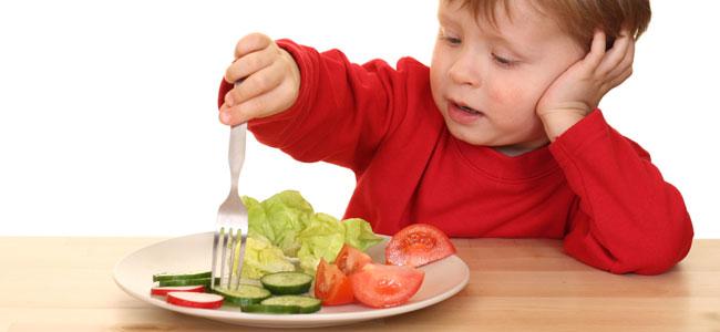 Propuestas de recetas de ensaladas para niños