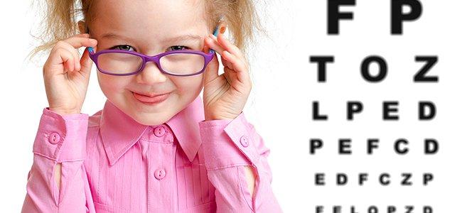 ¿Necesita mi hijo gafas?