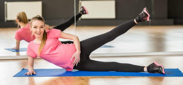 Consigue un vientre plano en el embarazo