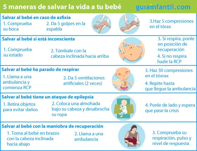 Formas de salvar la vida a tu bebé