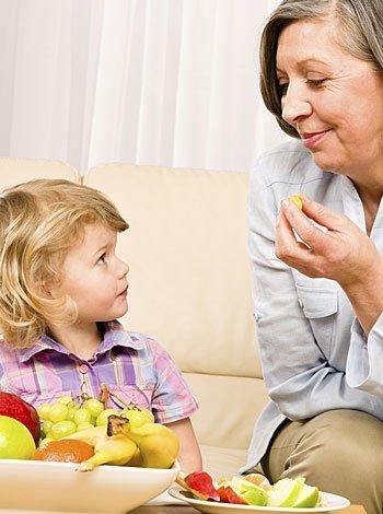 Dieta alimenticia sana: de abuelos a nietos