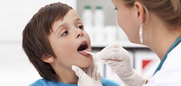 Diferentes dolores de garganta en los niños