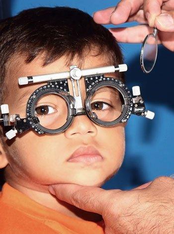 Problemas de visión de los niños
