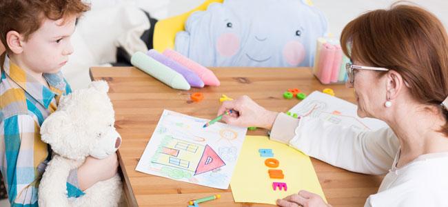 El aprendizaje de los niños autistas