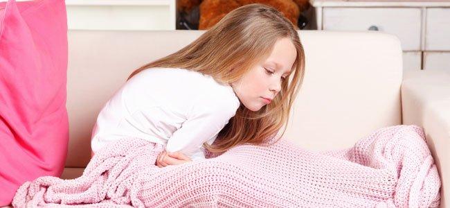 Causas del ardor de estómago en lo niños
