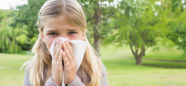 Alergia al polen y gramíneas en niños