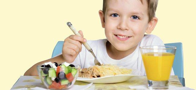Alimentación ideal para niños obesos