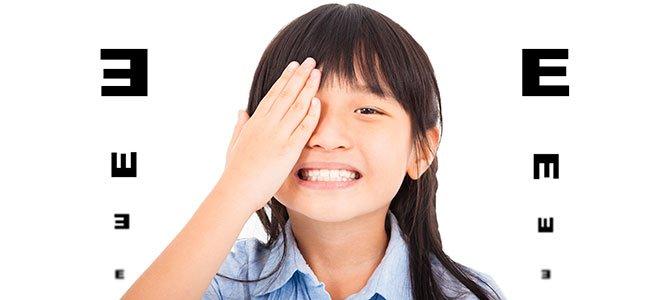 Ampliopía en niños y niñas