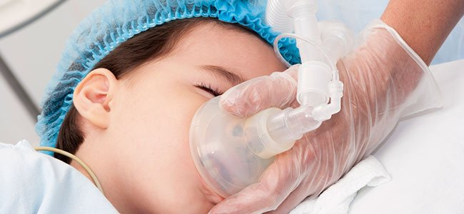 Diferentes tipos de anestesia para niños