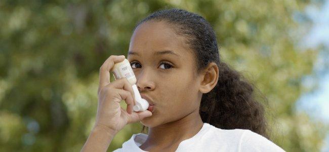 Asma en los niños.