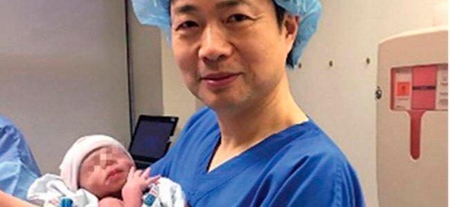 Nace el primer bebé de 3 padres