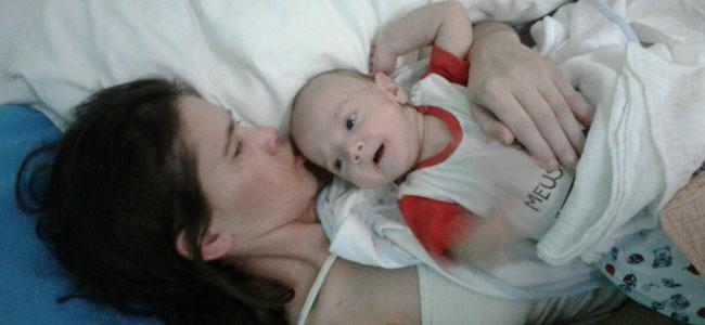El bebé milagro que logró que su madre saliera del coma